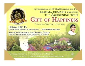 Celebrating 40 Years of Brahma Kumaris Service in USA