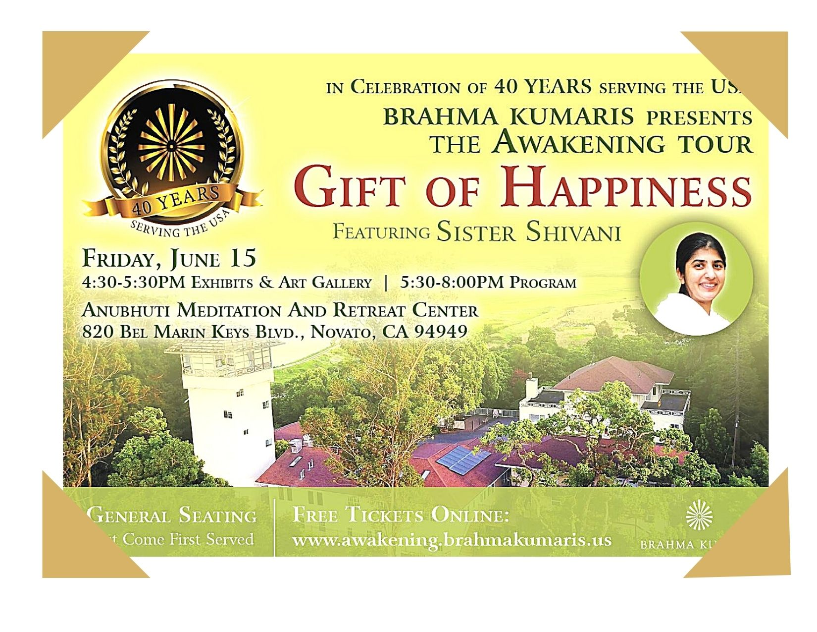 Celebrating 40 Years of Brahma Kumaris Service in USA