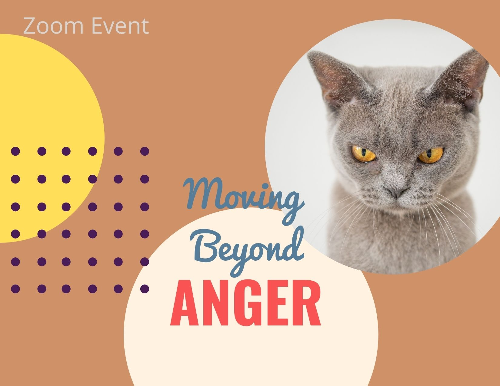Moving Beyond Anger